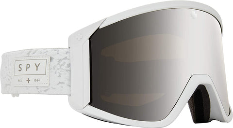 Spy | Raider Goggles 2021 | Alabaster HD Bronze with Silver Spectra Mirror + Spare Lens