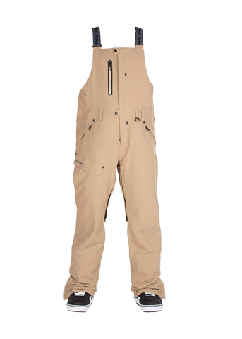 Bonfire | Reflect Bib Pants | Mens | 2021 | Desert