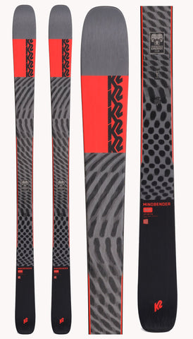 K2 | Mindbender 90 Ti Snow Skis | Mens | 2022
