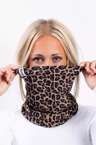 Eivy | Colder Neck Warmer | Womens | 2021 | Leopard