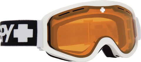 Spy | Cadet Goggles 2021 | Matte White HD Low Light Persimmon