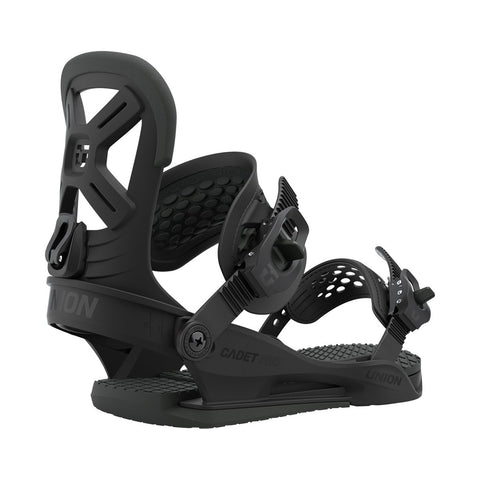 Union | Cadet Pro Snowboard Bindings | 2021 | Kids | Black