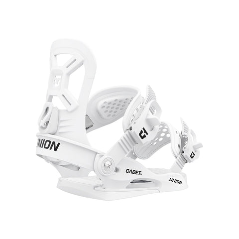 Union | Cadet XS Snowboard Bindings | 2021 | Kids | White