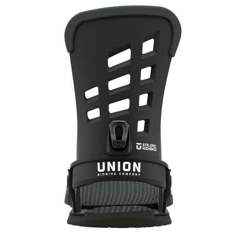 Union | STR Snowboard Bindings | 2021 | Mens | Black
