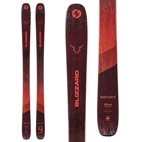 Blizzard | Rustler 9 Snow Skis | Mens | 2022
