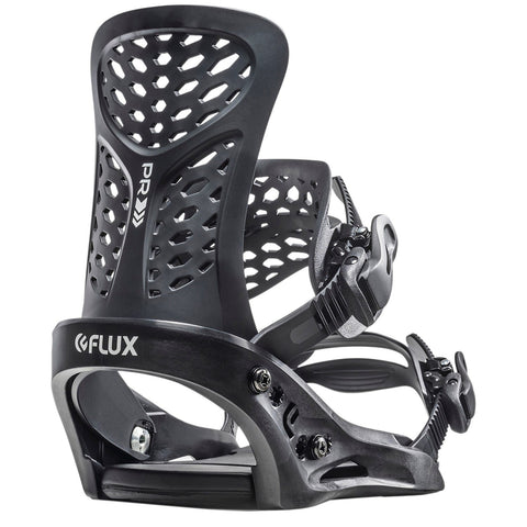 Flux | PR Snowboard Bindings | Mens | 2021 | Black