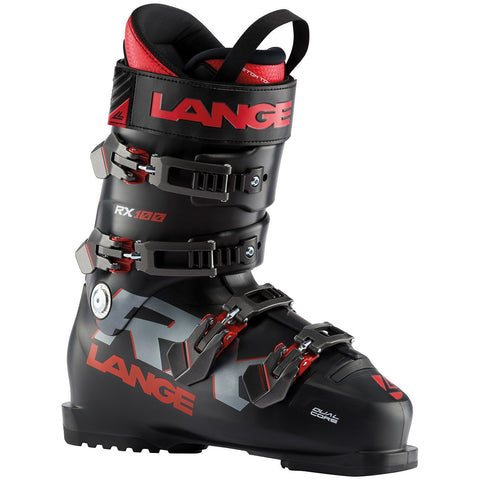 Lange | RX 100 Ski Boots | Mens | 2021 | Black / Red