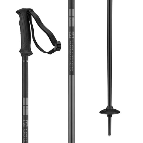 Salomon | Arctic Ski Poles | 2021 | Black