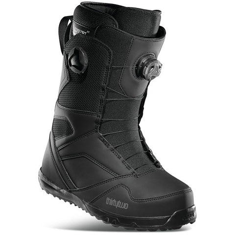 Thirtytwo | STW Double Boa Snowboard Boots | Mens | 2021 | Black