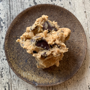 Miso + Sesame Chocolate Chip Cookie Dough