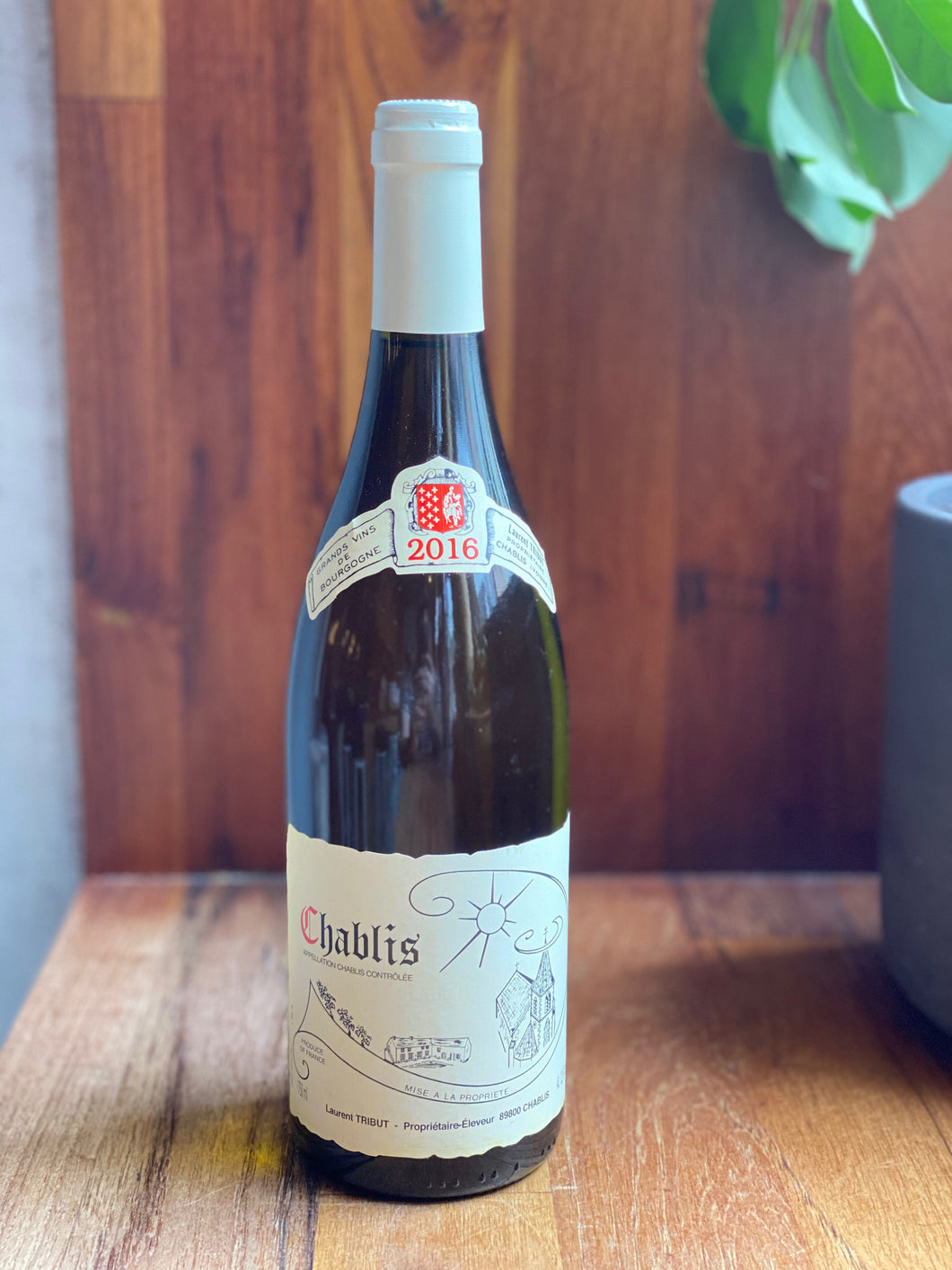 Laurent Tribut Chablis 2016 (White)
