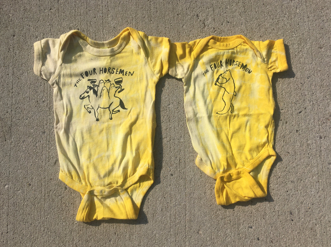 Natural Hand-Dyed Onesies