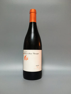 wine bottle with white label
