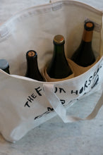 Load image into Gallery viewer, Wine Tote in Natural