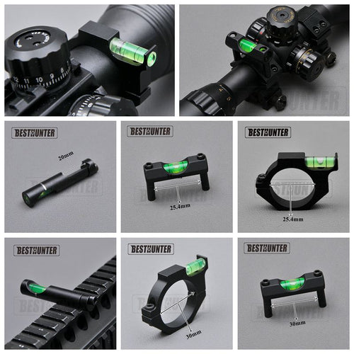 Tactical Spirit Bubble Level Scope Mount