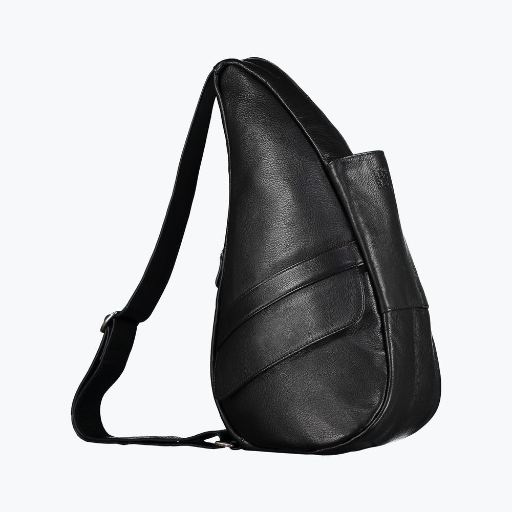Healthy Back Bag - Leather Small Black/Chili/Navy