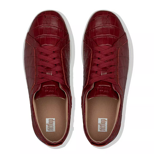 Fitflop Rally Croc Maroon