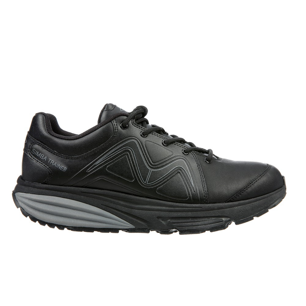 MBT Simba Trainer Leather Black/Black