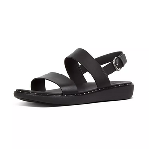 Fitflop Barra Leather Sandal Black