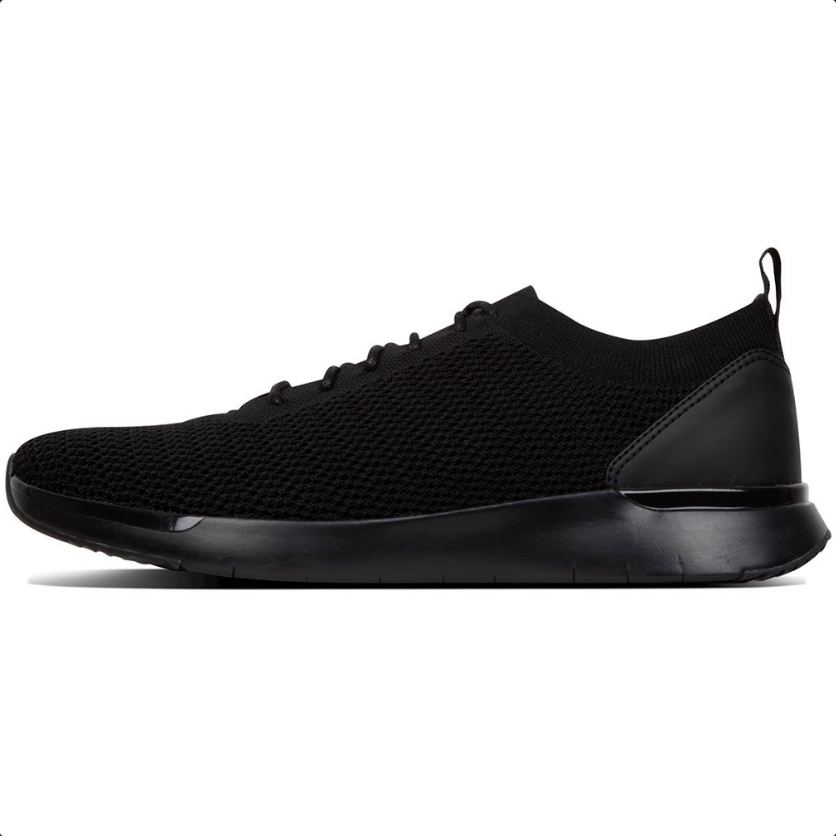 Fitflop Flexknit Sneaker All Black