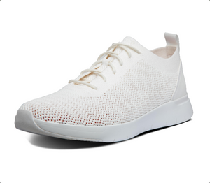 Laden Sie das Bild in den Galerie-Viewer, Fitflop Flexknit Sneaker White
