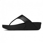 Fitflop Lulu Zehensteg Leather Black