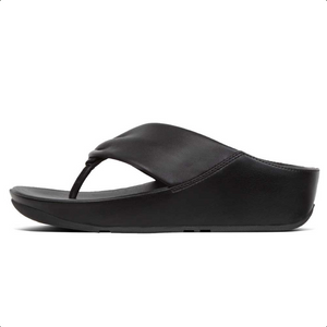 Fitflop Twiss Zehensteg Leather Black
