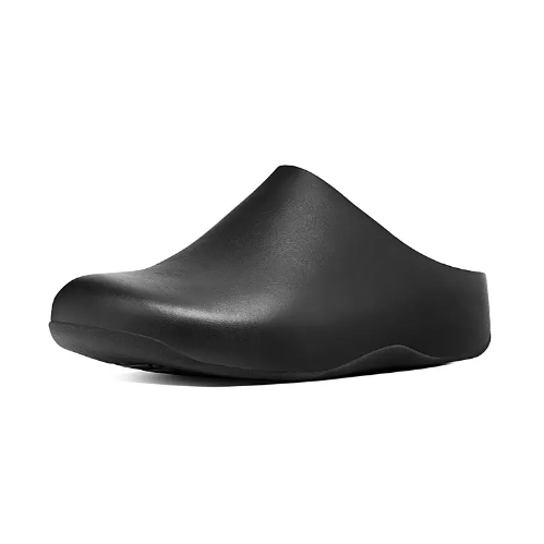 Fitflop Shuv Clog Leather Black