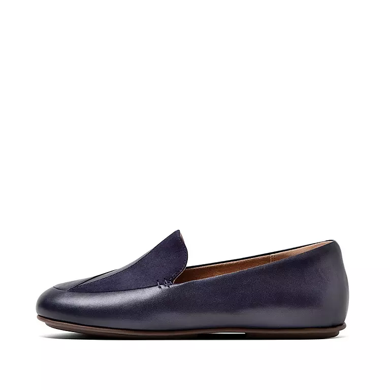 Fitflop Lena Loafer Lizard Maritime Blue