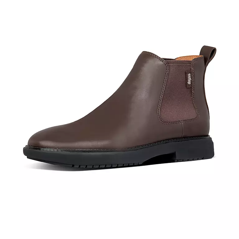 Laden Sie das Bild in den Galerie-Viewer, Fitflop Lamont Chelsea Boot Chocolate