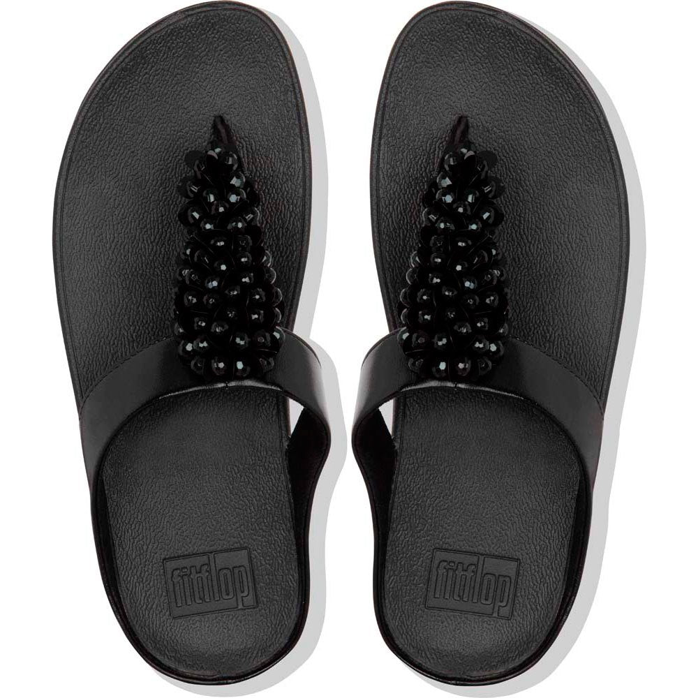 Fitflop Fino Sequin All Black