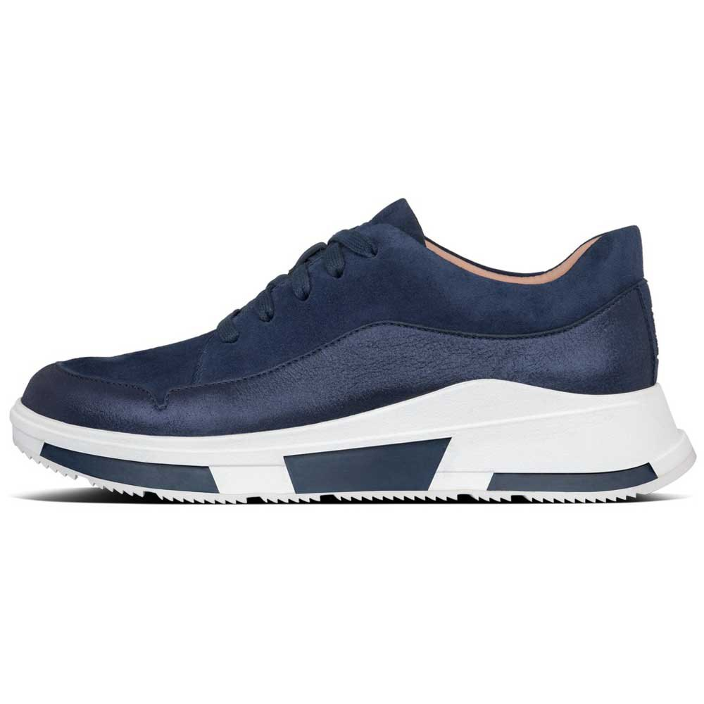Laden Sie das Bild in den Galerie-Viewer, Fitflop Freya Sneaker Suede Navy