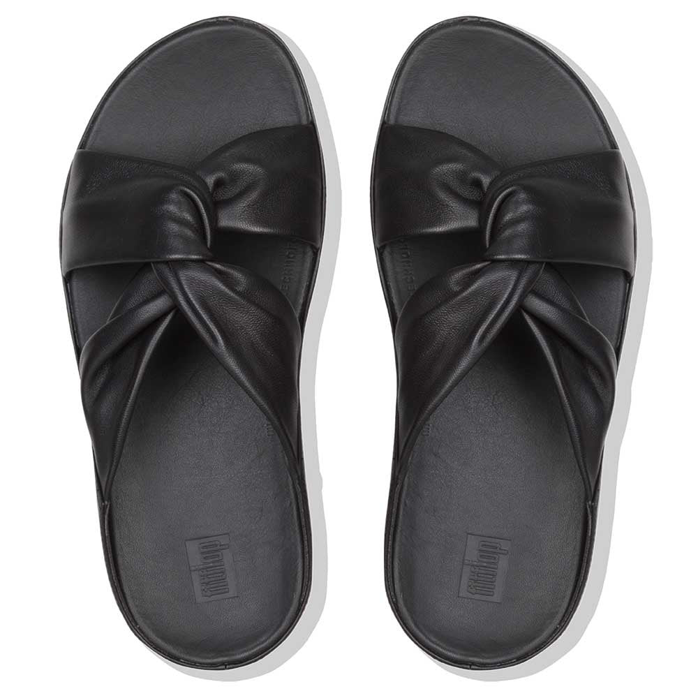 Fitflop Twiss Pantolette Leather Black