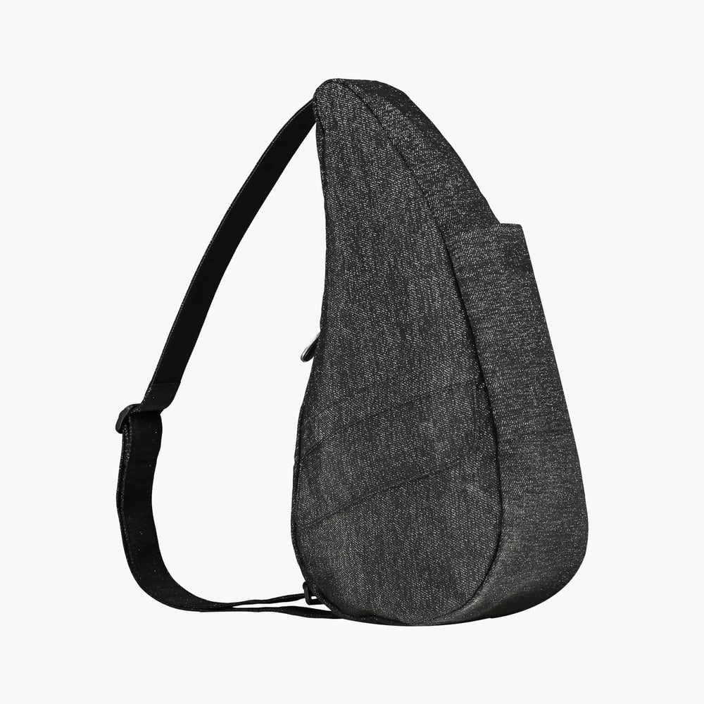 Healthy Back Bag Textured Nylon metallic Black S