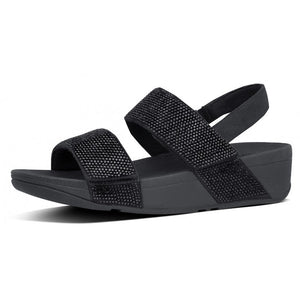 Fitflop Mina Crystal Sandals Black