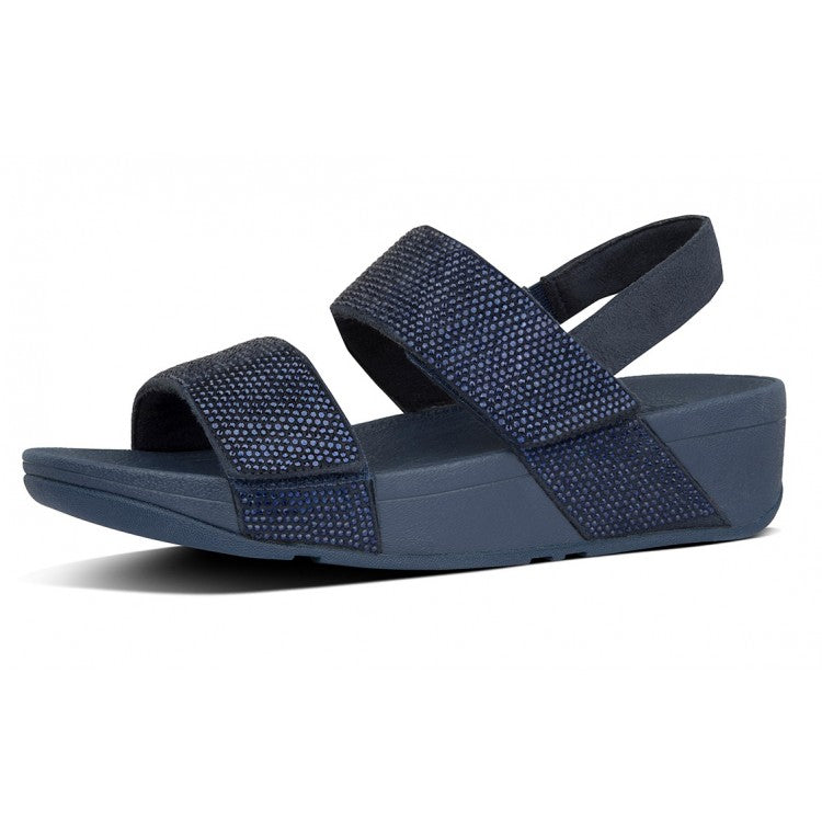 Fitflop Mina Crystal Sandals Midnight Navy