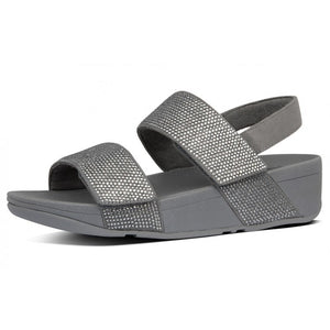 Fitflop Mina Crystal Sandals Pewter