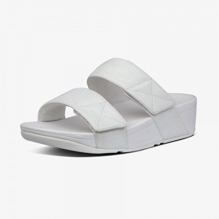 Laden Sie das Bild in den Galerie-Viewer, Fitflop Mina Shimmer Slide Stone