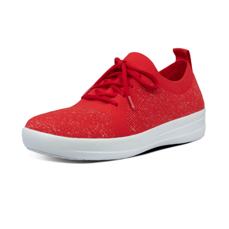 Laden Sie das Bild in den Galerie-Viewer, Fitflop F-Sporty Uberknit Red