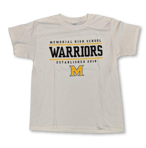 Memorial High Basic T-Shirt Warriors Basic - Frisco Sports Center - Frisco, Texas