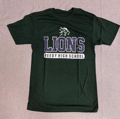 Reedy High Basic T-Shirt Lions Above - Frisco Sports Center - Frisco, Texas