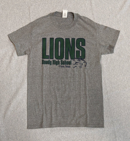 Reedy High Basic T-Shirt Lions Side - Frisco Sports Center - Frisco, Texas