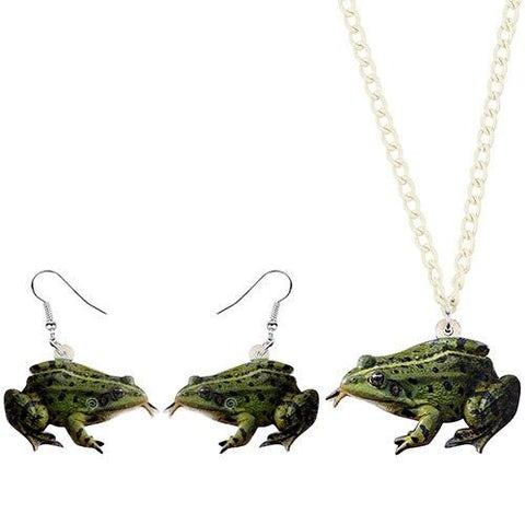 pendentif grenouille rieuse