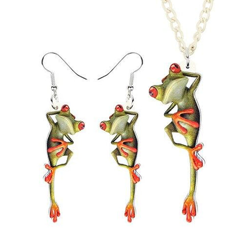 Pendentif grenouille<br>Relax