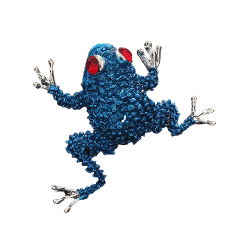 Broche Grenouille<br>Email