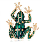 broche grenouille rieuse
