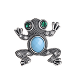 broche grenouille vintage