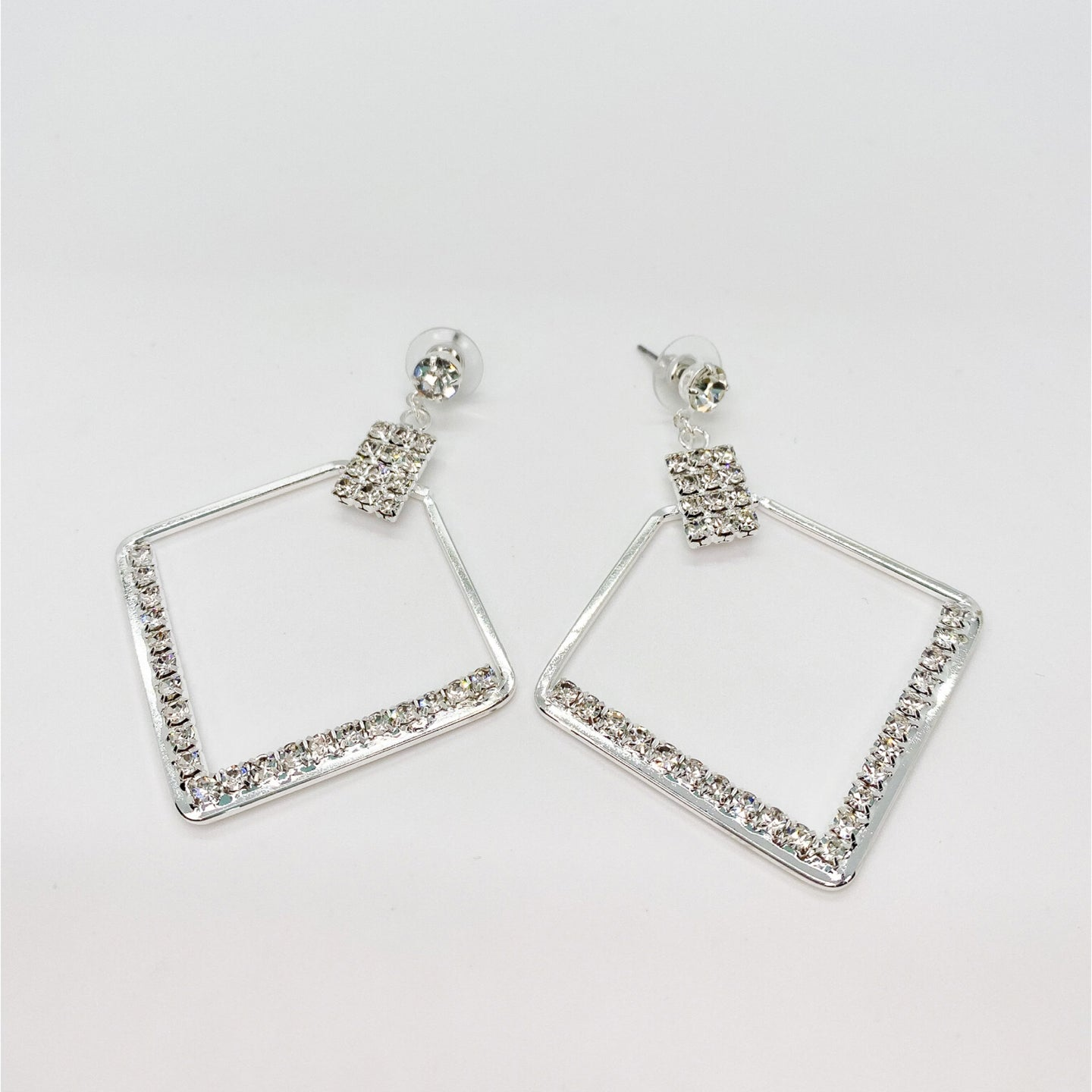 Triangle Dazzle Earring