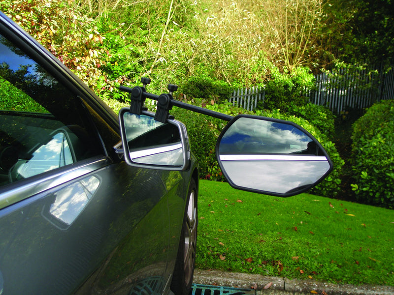 Milenco - Falcon Towing Mirror - Twin Pack - MIL3988 - BUNDLE with Additional Aero Mirror Pads | RV Online | Shop Camping & Caravanning Gear Online