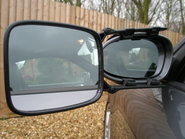 Milenco - Falcon Safety Towing Mirror - Single Mirror - MIL2103 - RV Online